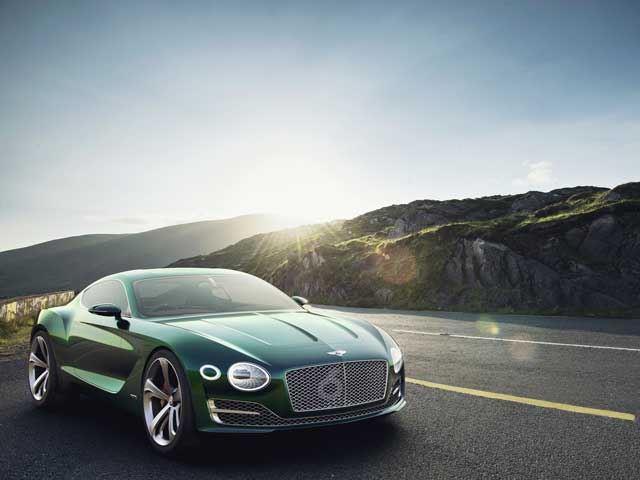 Bentley представил великолепный концепт EXP 10 Speed 6 Concept в Женеве