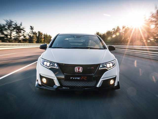 Honda представила серийную версию Civic Type R в Женеве