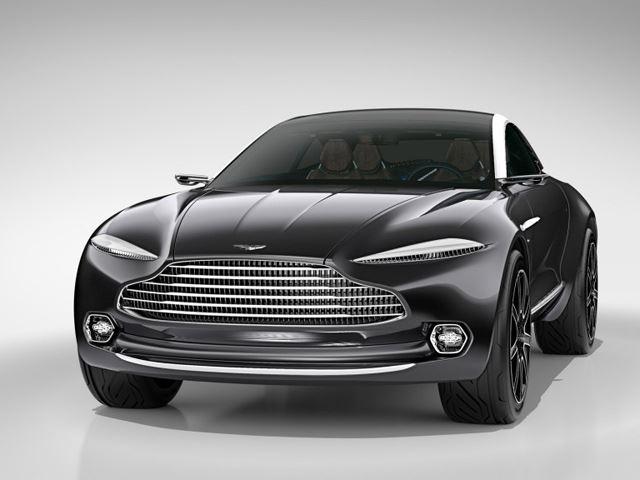 Aston Martin шокирует своим AWD SUV GT EV концептом