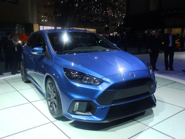 Ford Focus RS дебютировал в Женеве