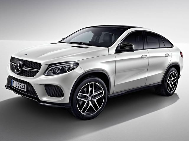 Mercedes-Benz GLE Coupe получил Night Package