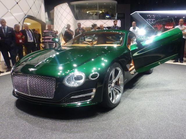 Построит ли Bentley свой потрясающий концепт?