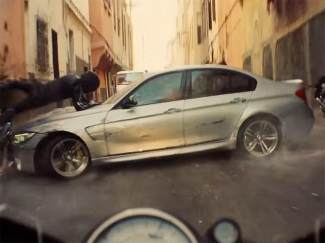 BMW M3 в трейлере ''Миссия невыполнима-5''