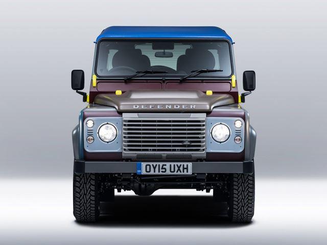 Land Rover попал в руки модельера