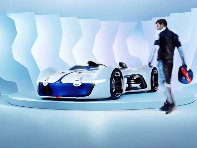 Что вдохновило создателей Alpine Vision Gran Turismo?