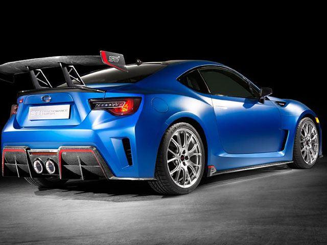 Subaru выпустил 450-сильный концепт BRZ