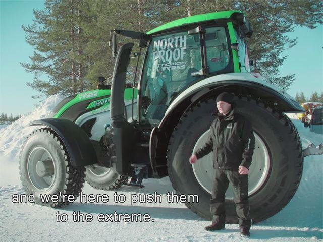 Это самый быстрый трактор в мире