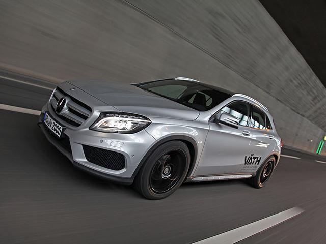 Тюнинг-пакет Vath для малыша Mercedes Benz