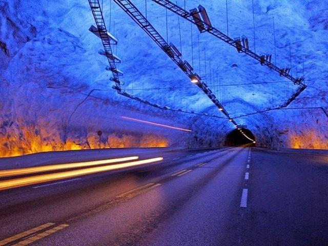 Самые красивые автомобильные тоннели в мире