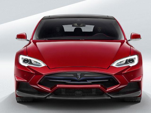 Tesla Model S от тюнинг-ателье Larte Design