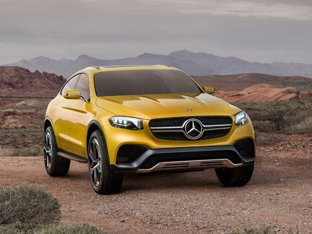 Mercedes представил Concept GLC Coupe
