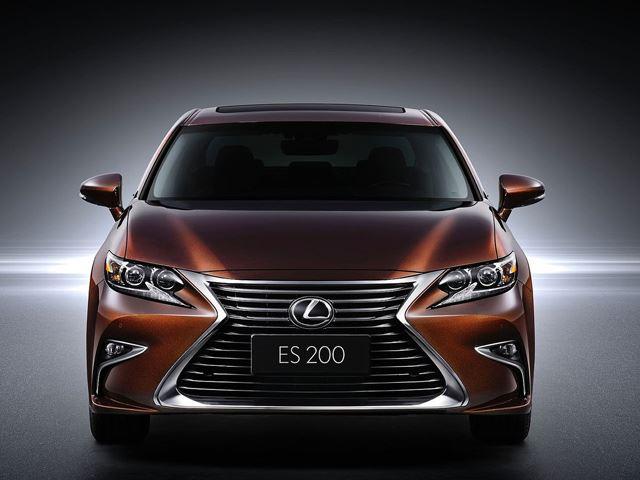 Lexus представил новый 2016 ES