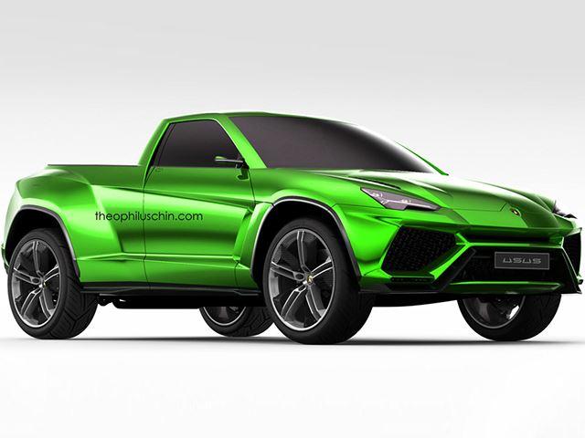 Сделает ли Lamborghini пикап Urus?