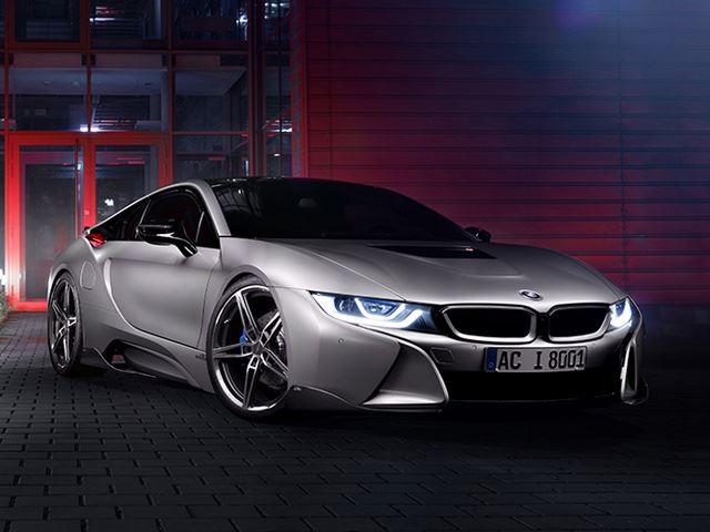 BMW i8 от тюнинг-ателье AC Schnitzer
