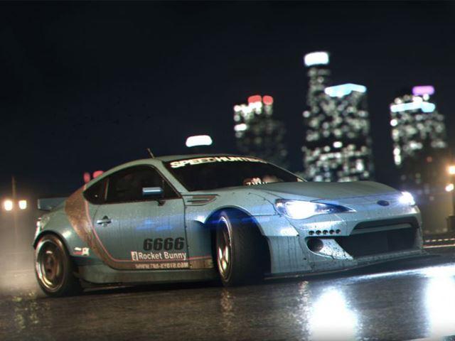 Need For Speed - официальный трейлер