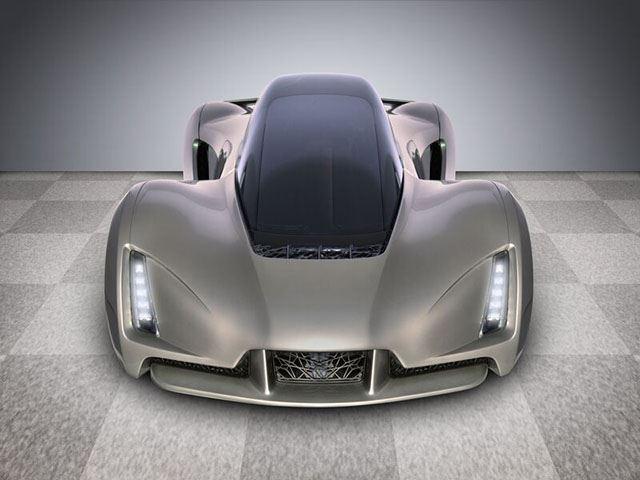 Сделанный на 3D-принтере суперкар быстрее McLaren P1?