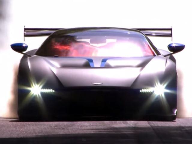 Новый 800-сильный суперкар от Aston Martin