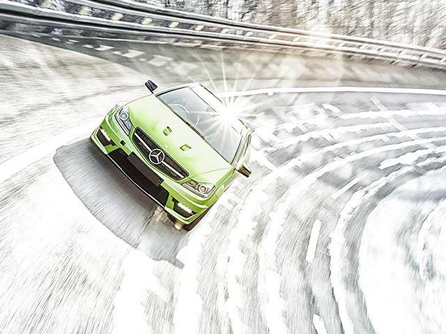 Южная Африка получила самый красивый C63 AMG