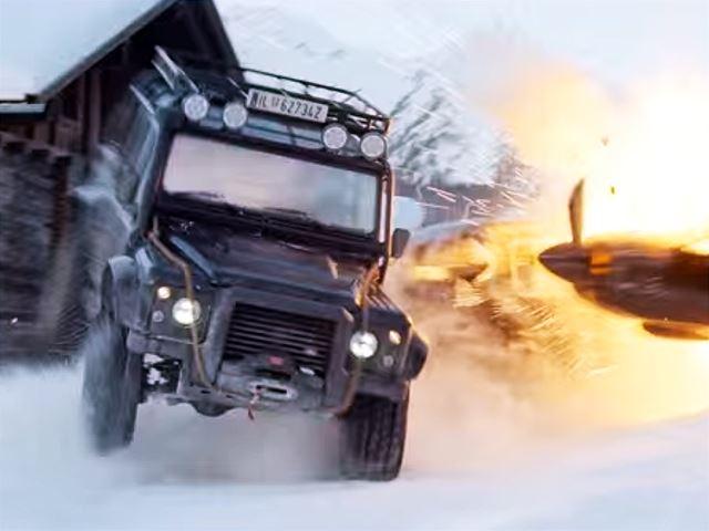 После этой рекламы Джеймса Бонда вы захотите ездить на Land Rover