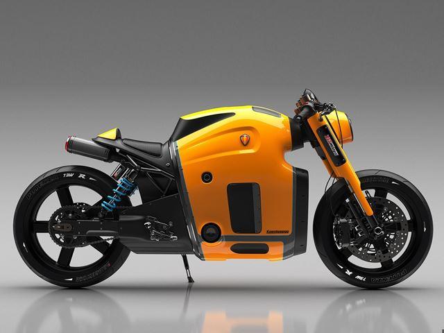 Должен ли Koenigsegg построить этот безумный мотоцикл?