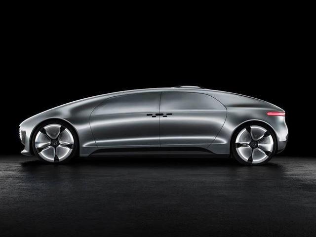 Это ответ Mercedes-Benz на автономные минивэны