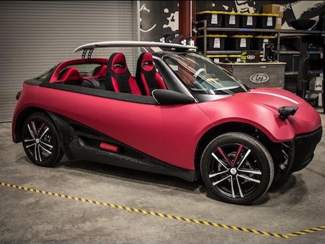 Первый напечатанный на 3D-принтере автомобиль скоро появится у дилеров