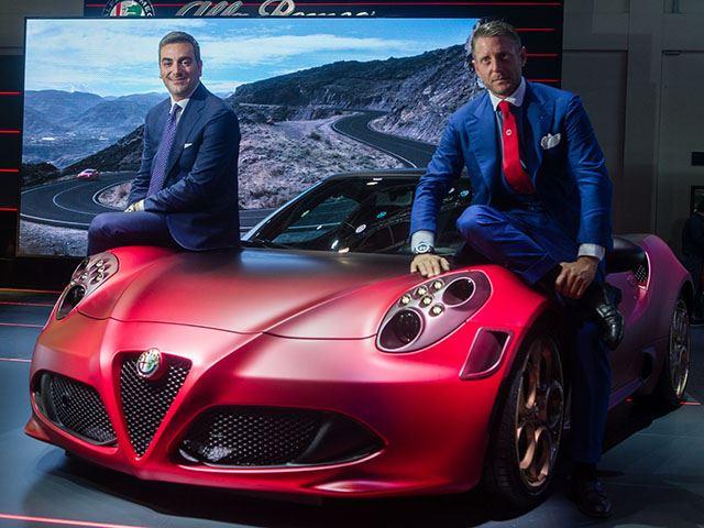 Специальный выпуск Alfa Romeo 4C выглядит потрясающие
