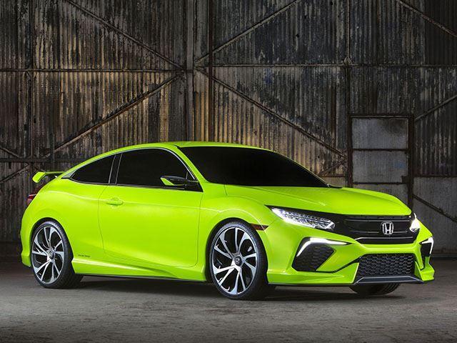 Новый Civic Coupe дебютирует в Лос-Анджелесе