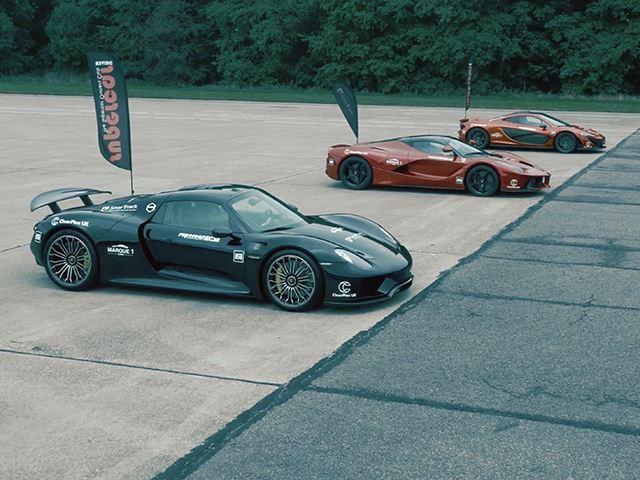 Какой из этих 3 гиперкаров быстрее разгонится до 300 км/ч?
