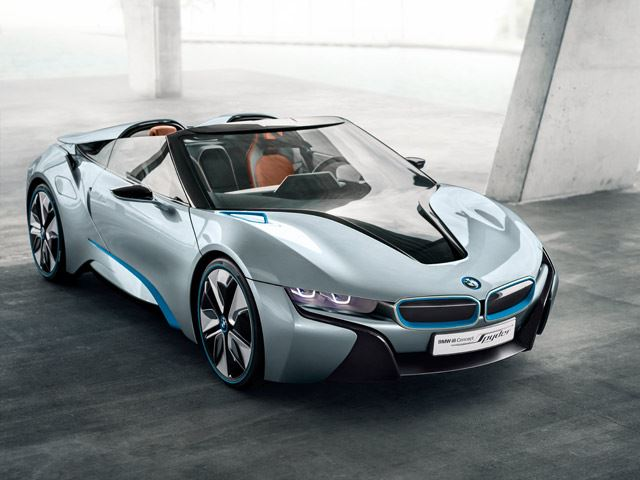 BMW удалит крышу самому красивому гибриду в мире