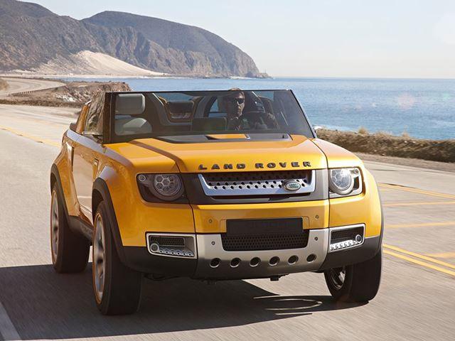 Новый Land Rover Defender будет похож на своего предшественника