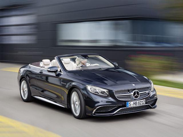 Поприветствуйте новый Mercedes S65 Cabriolet - кабриолет класса люкс