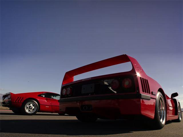 Ferrari 288 GTO против F40 против F50 против Enzo против LaFerrari  - это не обычная драг-гонка