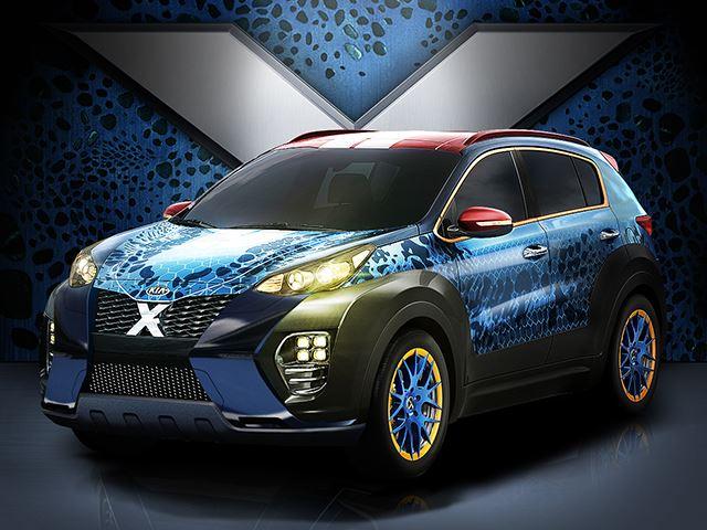''Люди Икс'' вдохновили создателей этого Kia Sportage