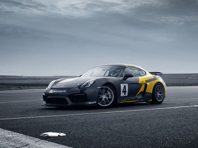 Porsche Cayman GT4 Clubsport - мечта, ставшая правдой