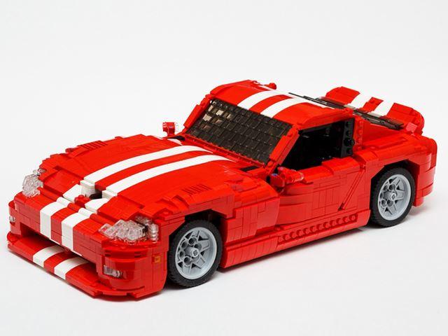 Еще один суперкар Lego - Dodge Viper GTS