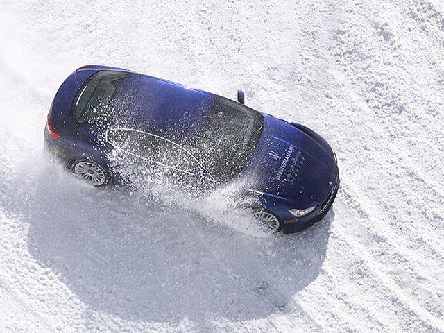 Maserati открывает зимнюю автошколу, чтобы доказать, что снег - это не плохо