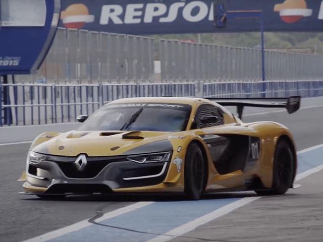 Renaultsport создал ни на что не похожий гоночный автомобиль