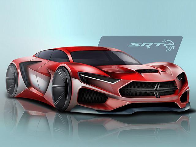 Так Dodge Hellcat будет выглядеть в 2025 году?