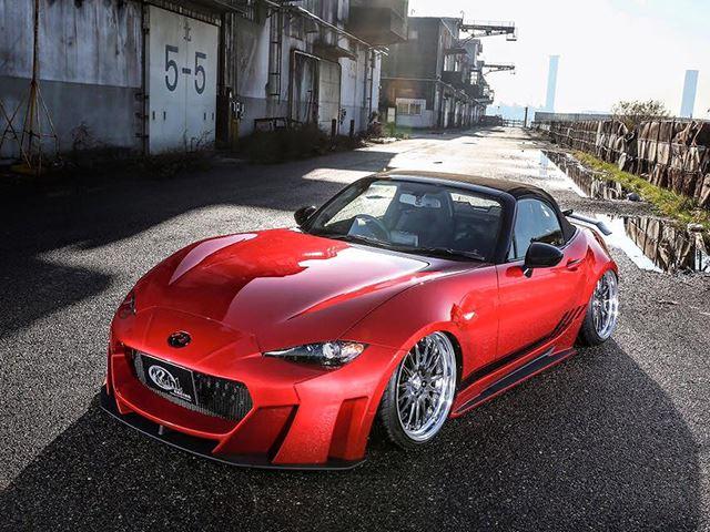 Сомнительный тюнинг Mazda MX-5 от Kuhl Racing