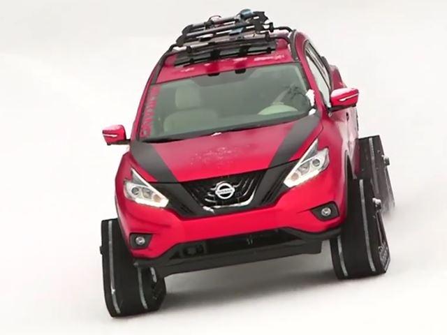 Зимние воины Nissan идеально подходят для зомби апокалипсиса