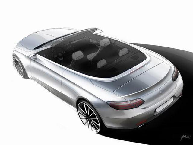 Mercedes покажет C-Class без крыши в Женеве