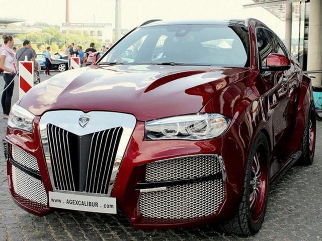 Самый уродливый BMW X6 в мире