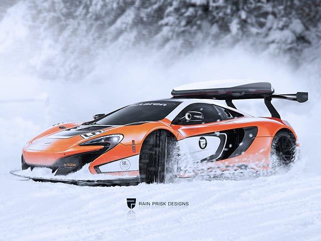 Rain Prisk Designs построили McLaren с байдаркой