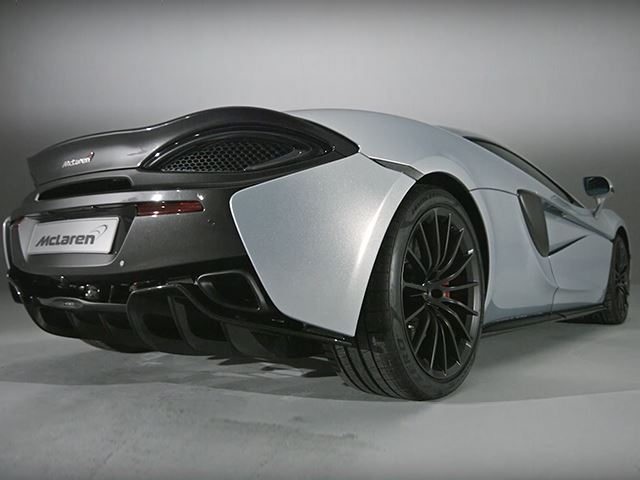 McLaren 570GT поможет автопроизводителю избавиться от конкурентов