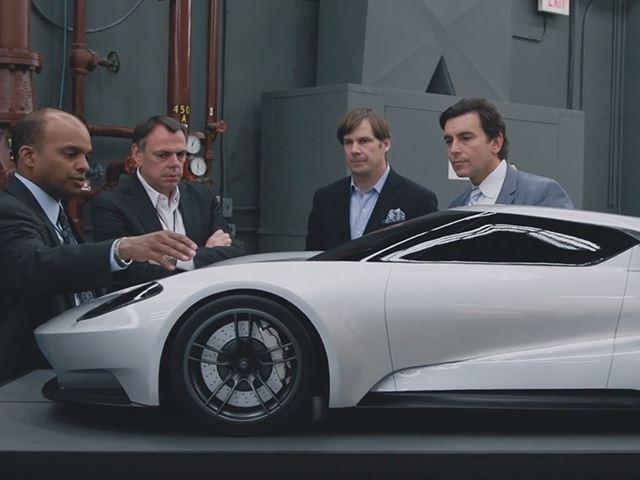 Новый Ford GT – как все начиналось