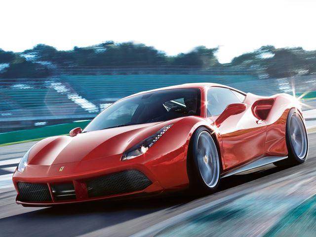 Ferrari представил новые фотографии 488 GTB и 488 Spider