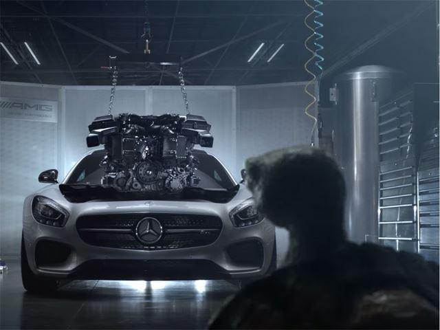 Mercedes поставит AMG двигатели в десять новых моделей этого года