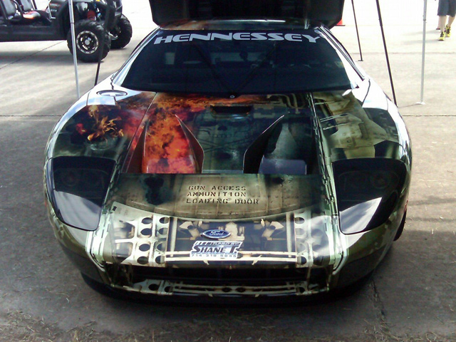 "Пятерка молниеносно быстрых автомобилей от ""Hennessey"""