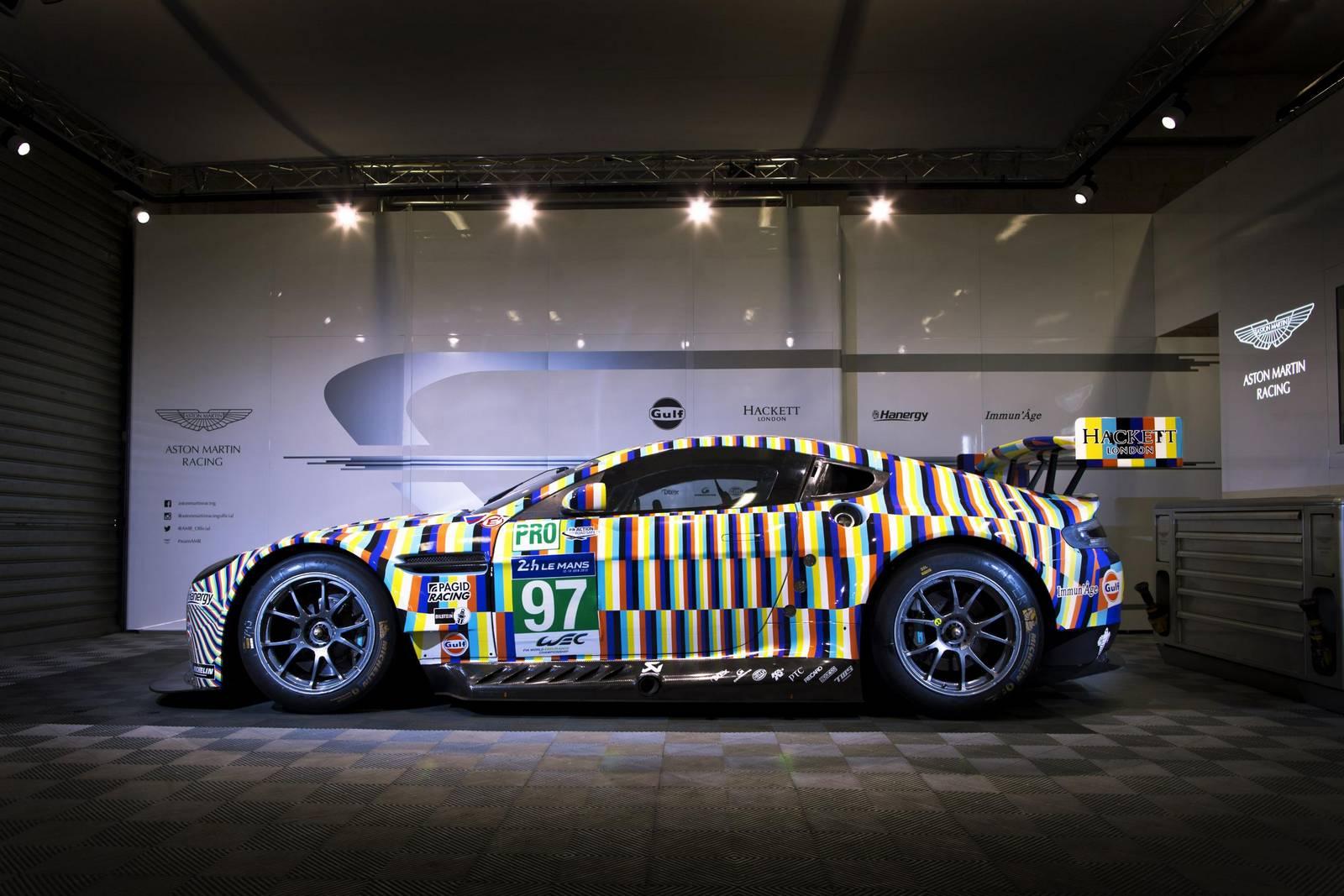 Aston Martin показал Vantage GTE Le Man Art Car